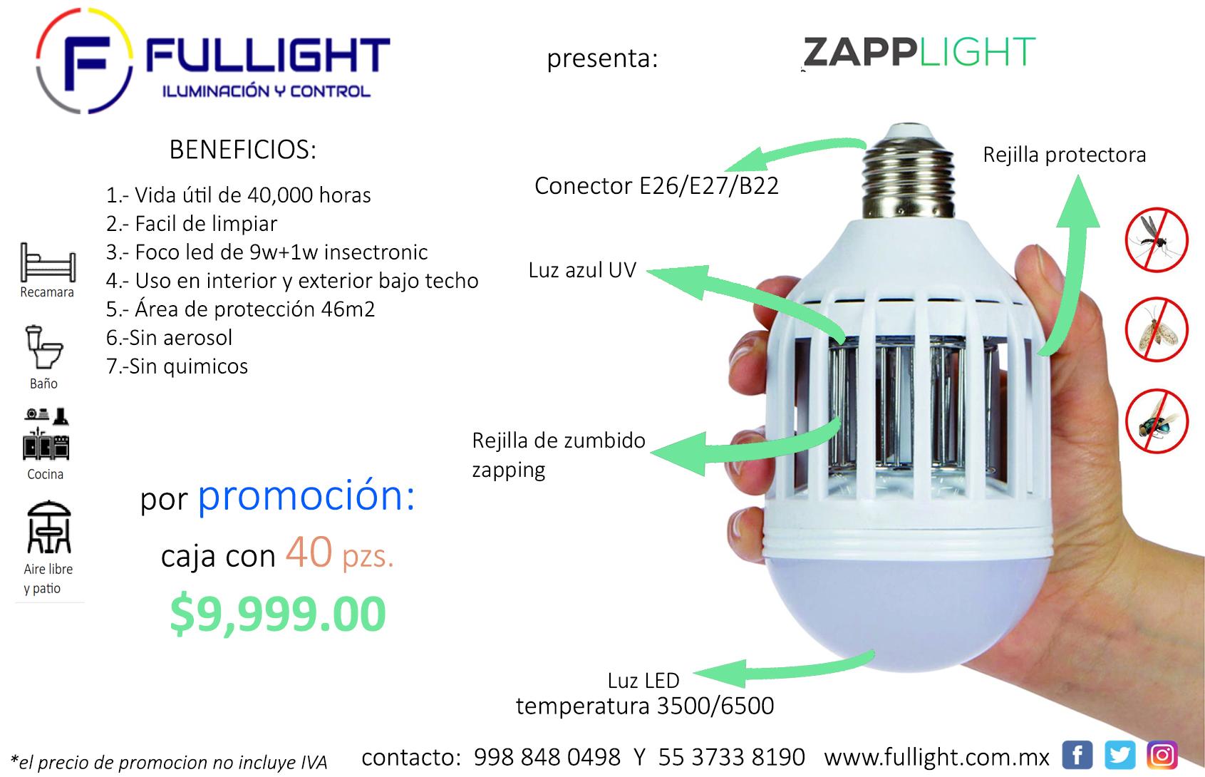 promoción Zapplight